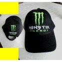 Monster energy  normale cap zwart
