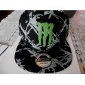 MONSTER ENERGY Cap Black barbed wire snaplock
