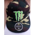 MONSTER ENERGY Cap grey MM junior/volw new